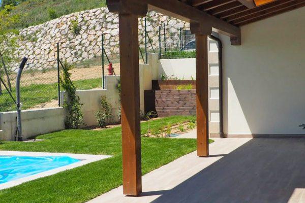 Proyecto de jardinería en Obanos (Navarra)