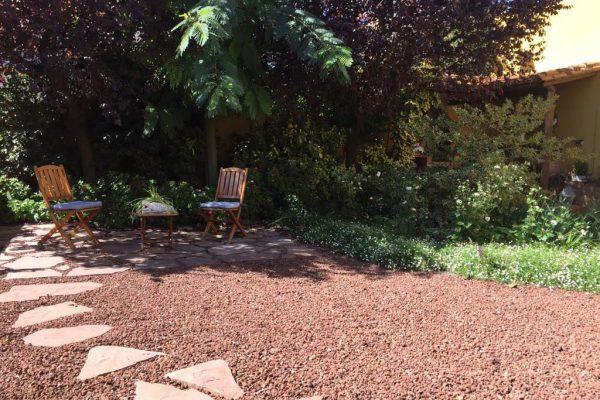 Reacondicionamiento de un jardín en Cascante (Navarra)