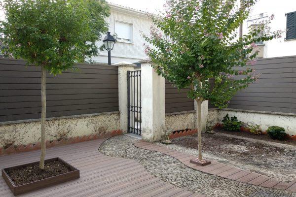 Reforma integral de un jardín en Cizur Menor (Navarra)